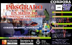 Posgrado en Medicina de Urgencias Emergencias  y Desastres