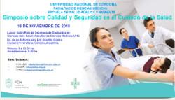 Conferencia: CALIDAD EN SERVICIOS DE SALUD Y SEGURIDAD DEL PACIENTE